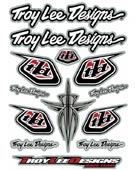 "TLD  ""RACE TEAM"" Stickerpage"