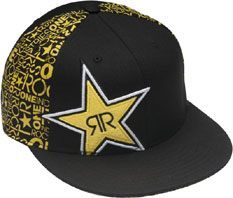 "ONE ROCKSTAR CAP ""COMMOTION"" Black"