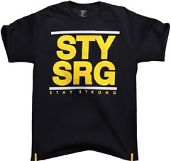 "STAYSTRONG ""DMC TEE Black"""