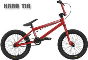 2012 HARO 116 (16 Zoll BMX) BLOOD RED