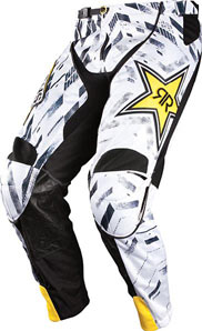 2012 ANSWER ROCKSTAR VENTED PANTS WHITE