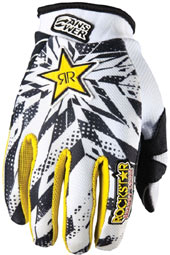 2012 ANSWER ROCKSTAR VENTED GLOVES WHITE