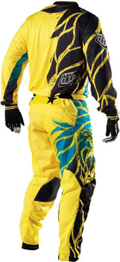 "2012 TLD GP AIR ""BEAST"" Yellow Back"