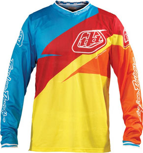 "2012 TLD GP AIR Jersey ""STINGER Yellow/Red"""