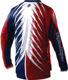 "2012 TLD GP Jersey ""SHOCKER Red/White/Blue"" RS"