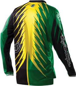 "2012 TLD GP Jersey ""SHOCKER Green / Yellow"" RS"