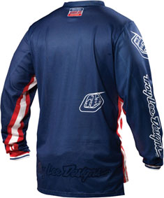 "2012 TLD GP AIR Jersey ""RACING TEAM""  Back"