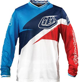 "2012 TLD GP AIR Jersey ""STINGER Blue/White"""