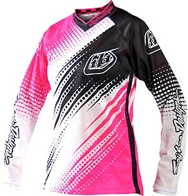 "2012 TLD GP AIR WOMEN Jersey ""PINK/White"""