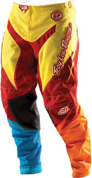 "2012 TLD GP AIR Pants ""STINGER Yellow/Red"""