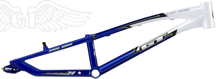 "2011 GT BMX ""SPEED SERIES"" Rahmen Blue/White"