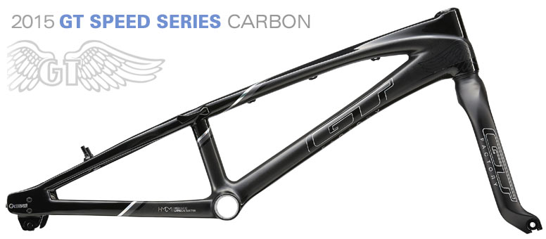 "2015 GT BMX  ""SPEED SERIES CARBON"" RACE Frame"