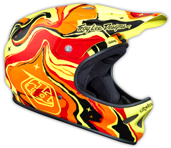 "2015 TLD D2 COMPOSITE ""GALAXY RED"""