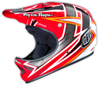 "2015 TLD D2 COMPOSITE ""PROVEN"" Red"