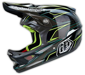 "2014 TLD D3 CARBON Helm ""EVO Grey"""