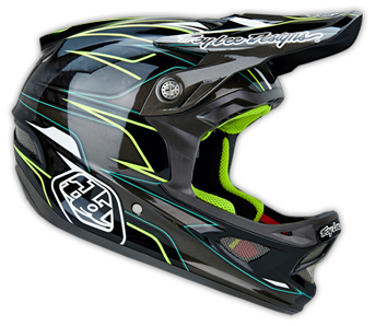 "2014 TLD D3 CARBON Helm ""EVO"" Grey"