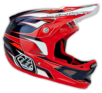 "2014  TLD D3  ""EVO""  Red"