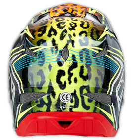 "2015 TLD D3 CARBON ""SPEEDA"" Yellow, Back"