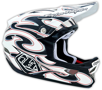 "2015  TLD D3 COMPOSITE ""SQUIRT"" White"