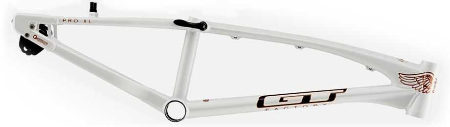 NEW!  2016 GT 'SPEED SERIES' Frame White