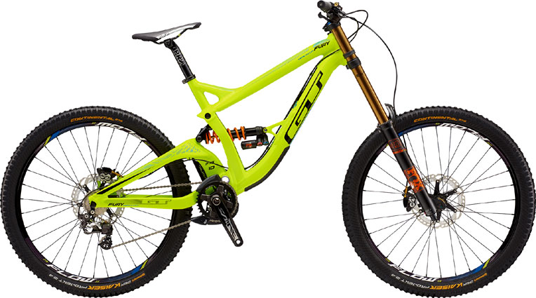 "GT GRAVITY MTB ""FURY WORLD CUP"" Yellow"
