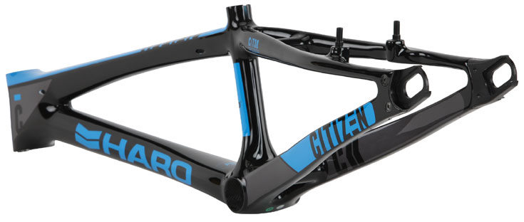 "2017  HARO ""CITIZEN CARBON"" PTC RACE Frame"
