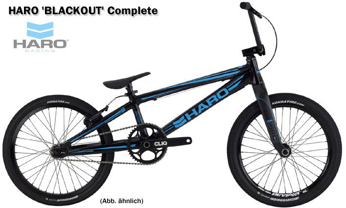 2017 HARO BMX RACE 'BLACKOUT' PRO XL
