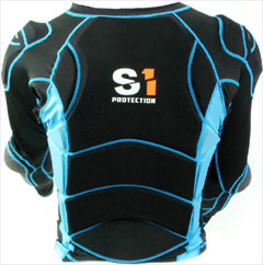 "S1 ""HIGH-IMPACT"" Safety Jacket Black/Blue"