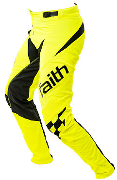 "2017 FAITH YOUTH PANTS ""FULL NEON YELLOW"""