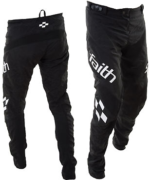 FAITH YOUTH 'ECLIPSE' PANT BLACK / WHITE