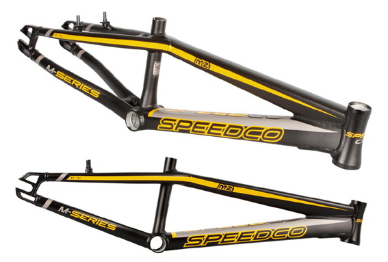2017 SPEEDCO 'M2 Frame' ALLOY  Matte Black / YELLOW