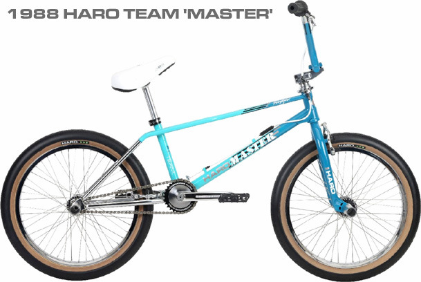 1988 HARO LINAGE MASTER TEAL BLUE