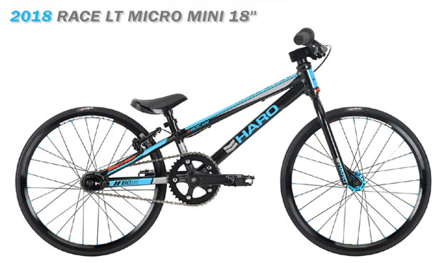 2018 HARO BMX 'RACE LT' MICRO MINI 18""